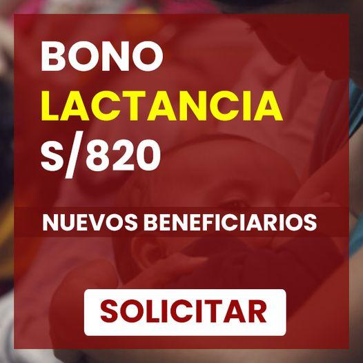 Bono Por Maternidad: Requisitos Para Cobrar El BONO De S/820 Por Lactancia HOY