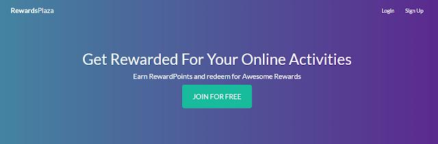 Reward Plaza - Earn money from your online activities