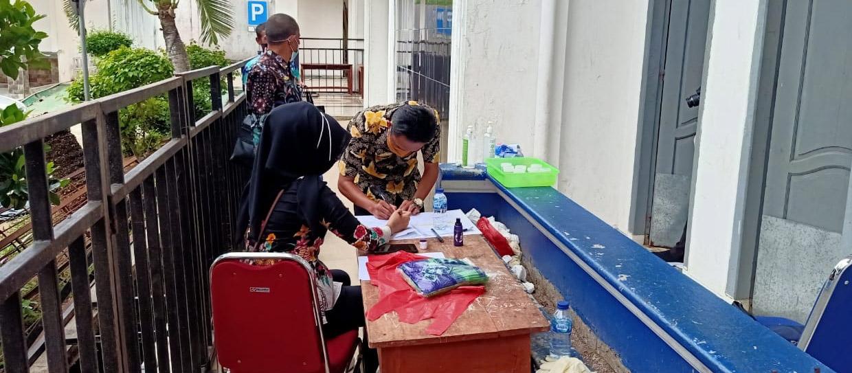 Dadakan 189 Pejabat Lampura Tes Urine, Wartawan Dilarang Meliput