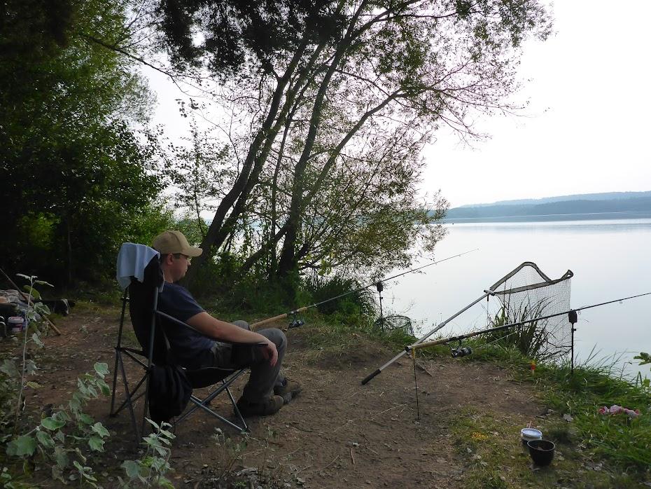 Стул, рыбалка, отдых