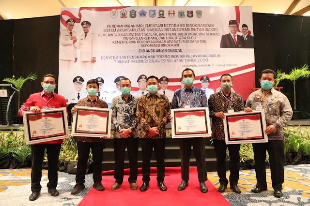 Bupati Bantaeng Terima Penghargaan untuk Empat Inovasi