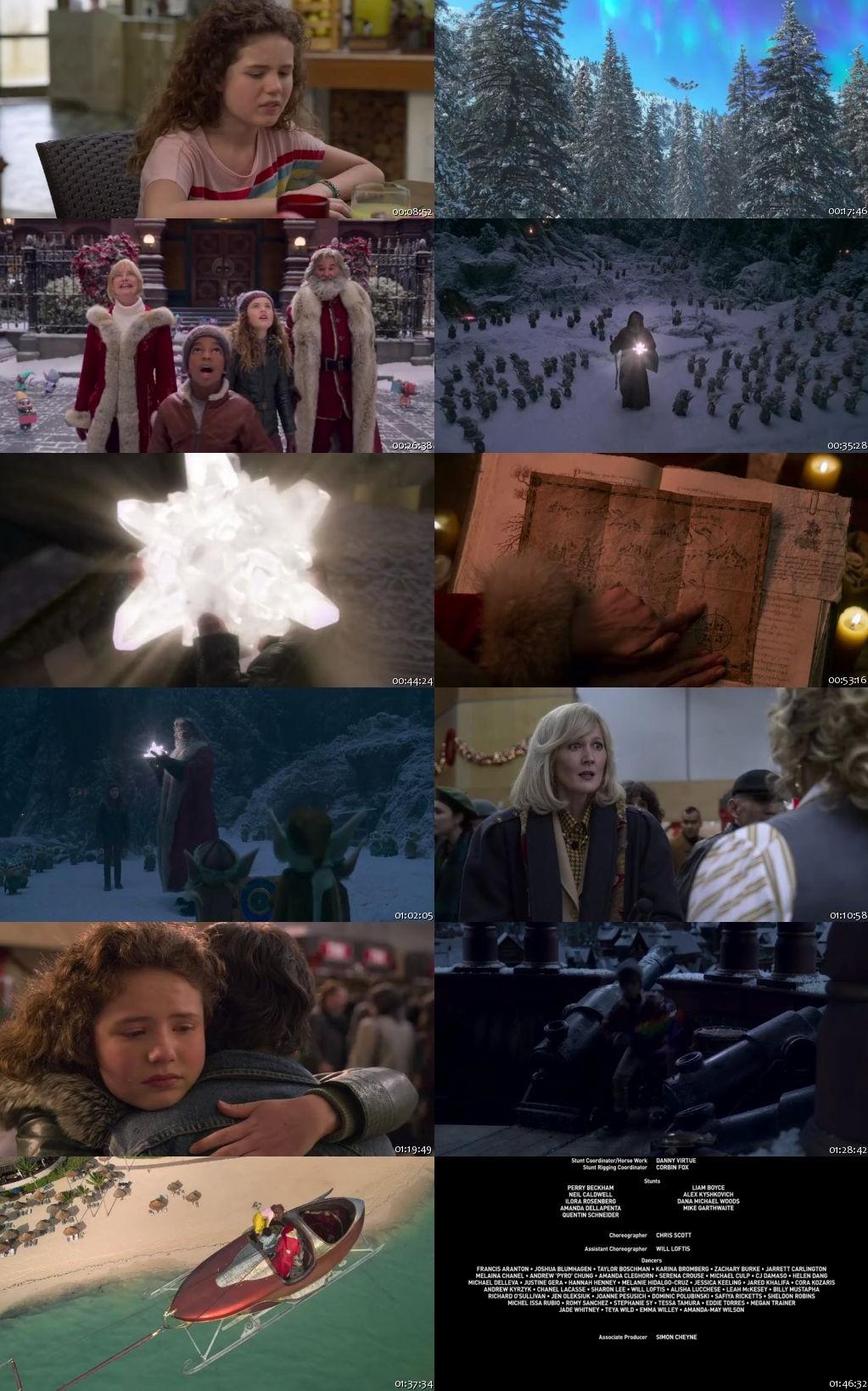 The Christmas Chronicles 2 2020 HDRip 480p 300Mb [Hindi-English]
