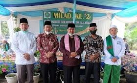 Wabup Muaro Jambi BBS Hadiri Milad Ke-II Ponpes Hadiqotul Ulum Aassyafi'iyah
