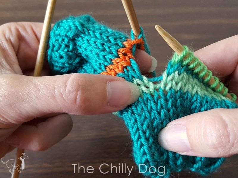 Knitting A No Gap Afterthought Heel The Chilly Dog