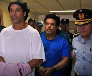 Ronaldinho Charged To Court for Fake Travelling Documents in Paraguay