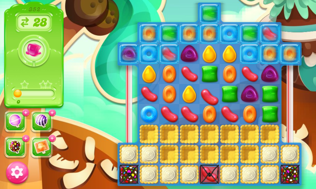 Candy Crush Jelly Saga 352