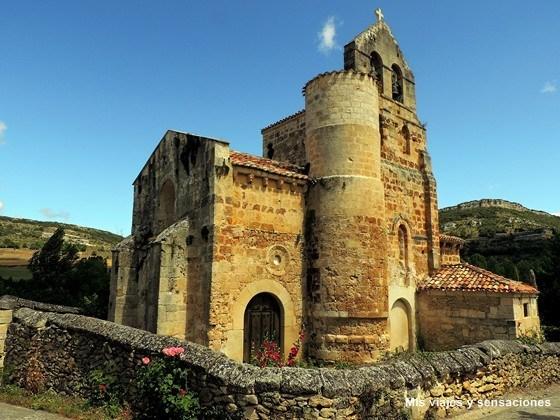Iglesia de El Salvador en Escaño, Valle de Nela, Merindades, Burgos