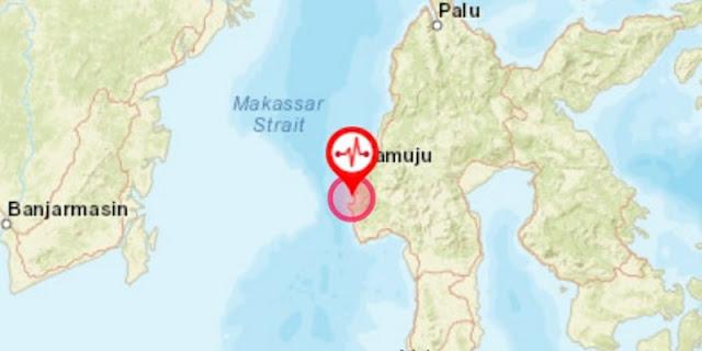 Gempa M 5,2 Dirasakan Kuat Hingga 4 Detik, Warga Majene Panik Dan Kembali Ke Pengungsian