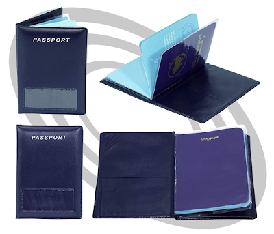 Leather Passport cover for Rs. 49