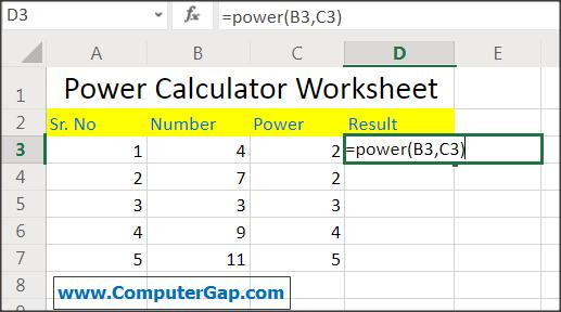 Apply formula / Insert Function in Excel Online