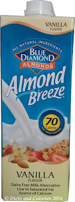 blue diamond almond breeze vanilla milk