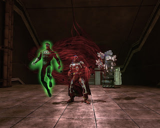 Doctor Moongem meets Green Lantern