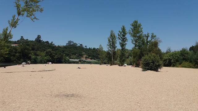 Areal da Praia Fluvial do rebolim