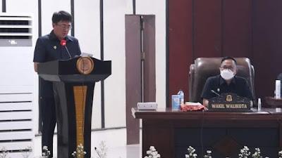 AA-RS Dengar Pandangan Umum Fraksi-Fraksi atas Ranperda Perubahan APBD 2021