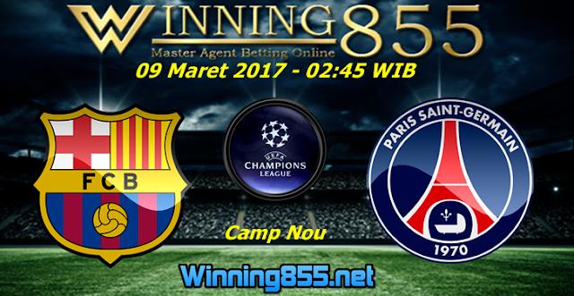 Prediksi Skor Barcelona vs PSG 09 Maret 2017