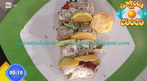 Rotoli di vitella con ricotta ricetta Gandola da Prova del Cuoco