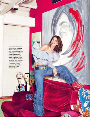 Vaani Kapoor in Vogue Magazine