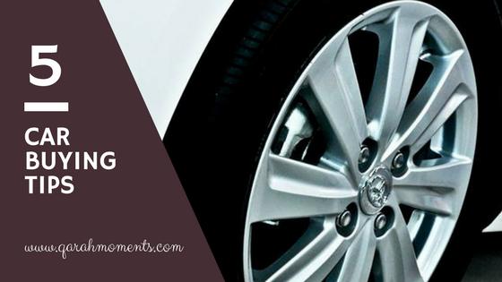5 Car Buying Tips