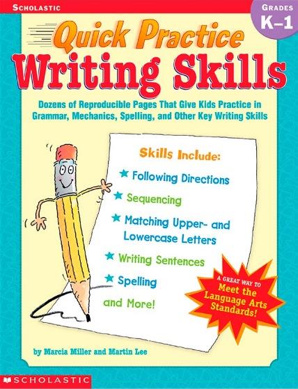 Quick Practice Writing Skills (Scholastic, Grade K-1)