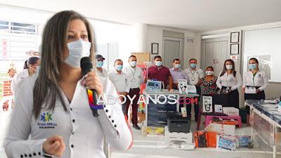 Donan equipos biomédicos y de sistemas a la ESE Manuel Castro Tovar