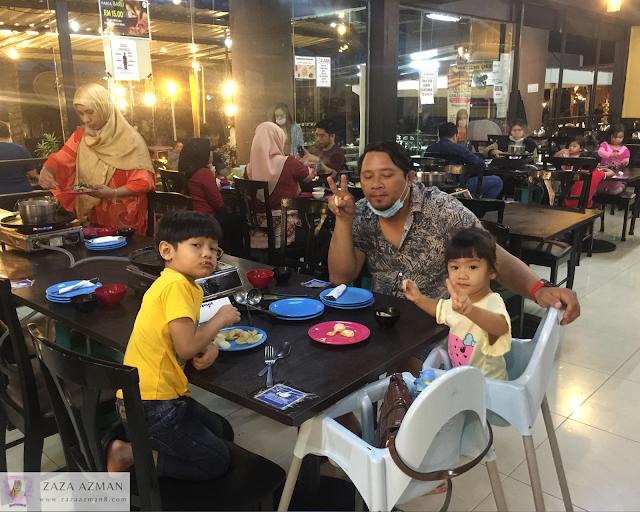 Makanan steambot dan BBQ murah di Shah alam