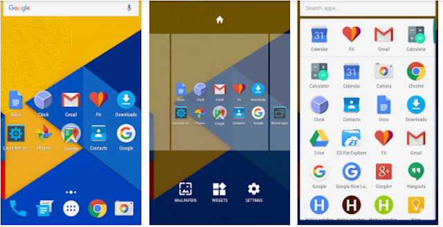 launcher android terbaik dan ringan gratis 2016