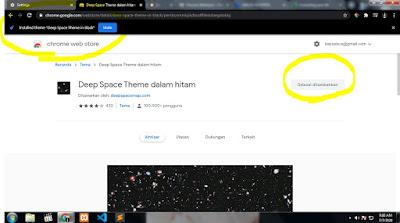 Cara Mudah Merubah Tema di Google Chrome