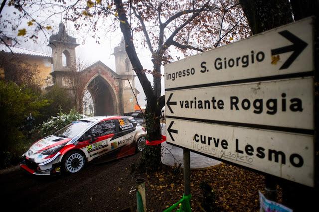 Rally Driver Kalle Rovanpera on Rally Monza 2020