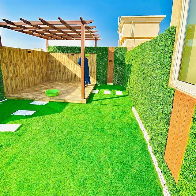 ديكورات حدائق منزلية في حريملاء