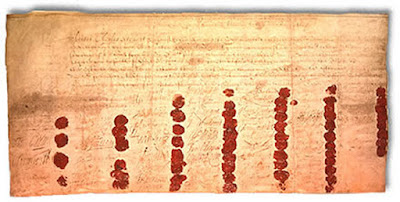 death warrant of Charles I