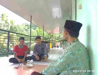 ke Estetikan Lombok Utara dan Review Buku Corel Draw, Photoshop di MAS MALAKA.