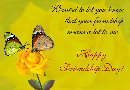 Friendship Day Quotes, Messages, Sms for Facebook in English