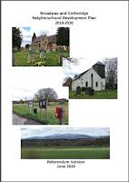 Cover of Broadwas and Cotheridge Neighbourhood Plan