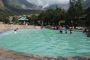 UNIK !! Wisata Kolam Renang Di Ketinggian 2.065 Mdpl Mt. Papandayan