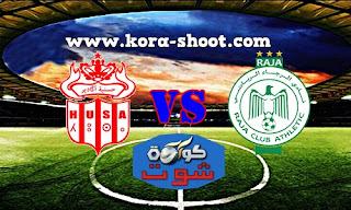 مشاهدة مباراة الرجاء الرياضي وحسنية اكادير بث مباشر 10-03-2019 كأس الكونفيدرالية الأفريقية