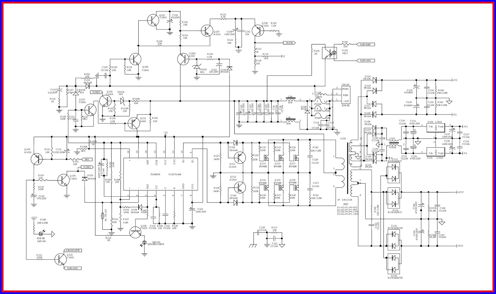 Car Amplifier Scematic Wiring Diagram Libraries Audio Circuit Received By Email Lm2896 Electronic Equipment Repair Centre Infinity 1300a