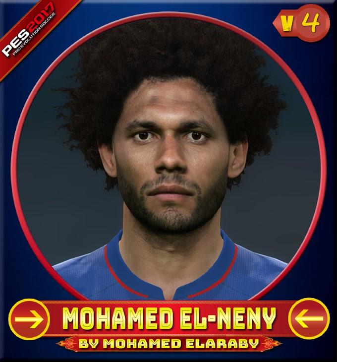 Mohamed El-Neny Face V.4 Besiktas jk Player - PES 2017