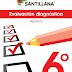 EVALUACIÒN DIAGNÒSTICA 6º PRIMARIA CICLO ESCOLAR 2019-2020