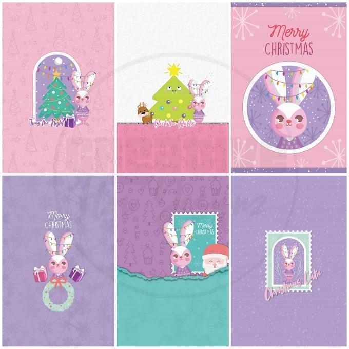 Christmas Cutie Wallpaper Set
