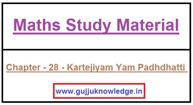 Chapter - 28 - Kartejiyam Yam Padhdhatti