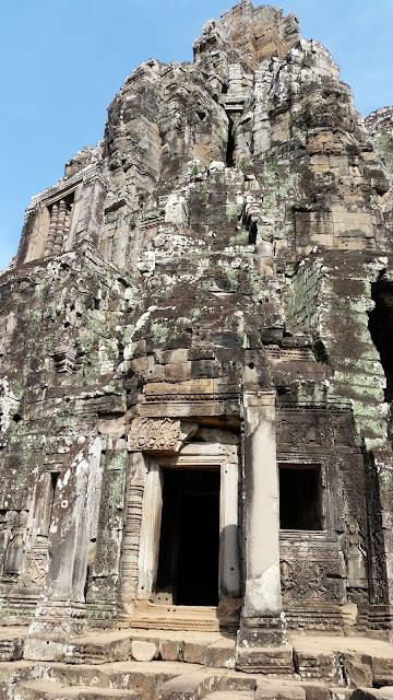 Eingang zu einem der Tempel
