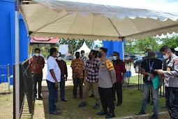 Herry Ario Naap Tinjau Lokasi Penyambutan Kirab Api PON XX Papua