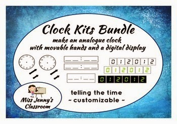 https://www.teacherspayteachers.com/Product/BUNDLE-Analogue-and-Digital-Clock-Kits-Class-Display-1030037