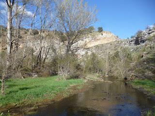 Vadeo del río Talegones