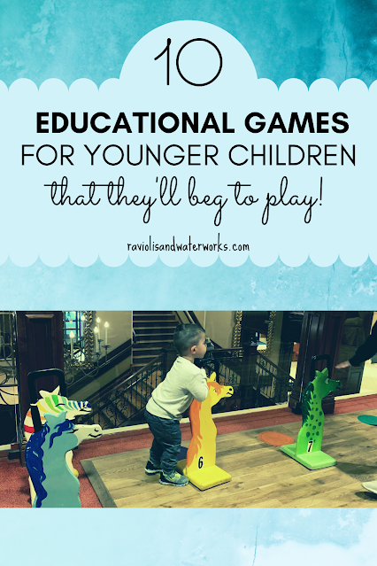 ten games ideas to help your kid learn