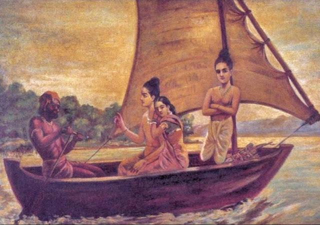 Ramayan Story In Hindi सरयू नदी पार करते हुवे
