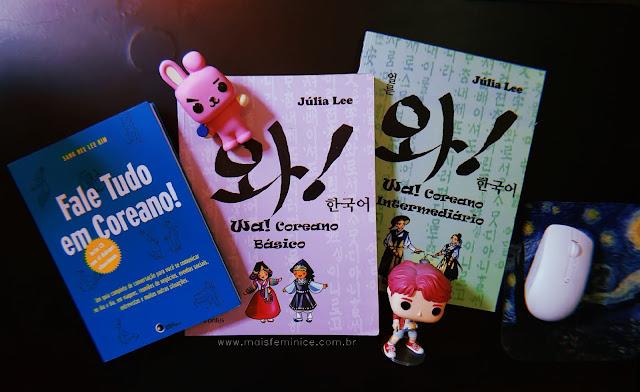 Livros para aprender coreano