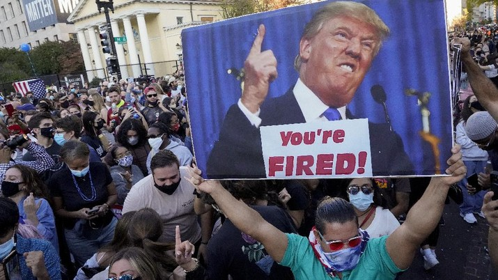 Tak Terima Kekalahan, Trump Gugat Hasil Pilpres AS