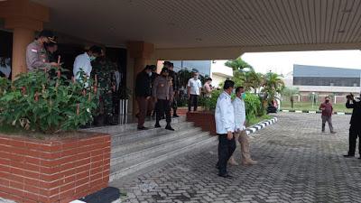 Kepala BP Batam Dampingi Menko PMK Tinjau RS Khusus Infeksi di Pulau Galang