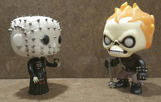 Pinhead and Ghost Rider